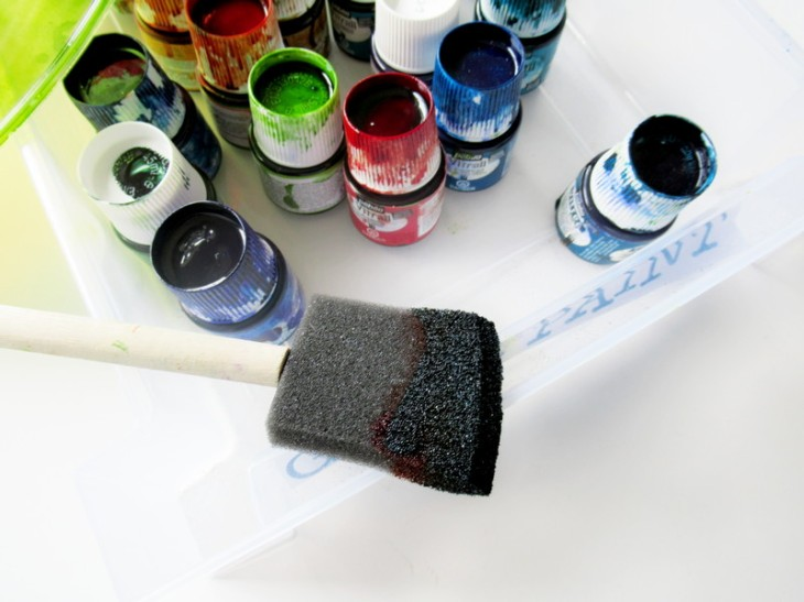 lamp cover brush