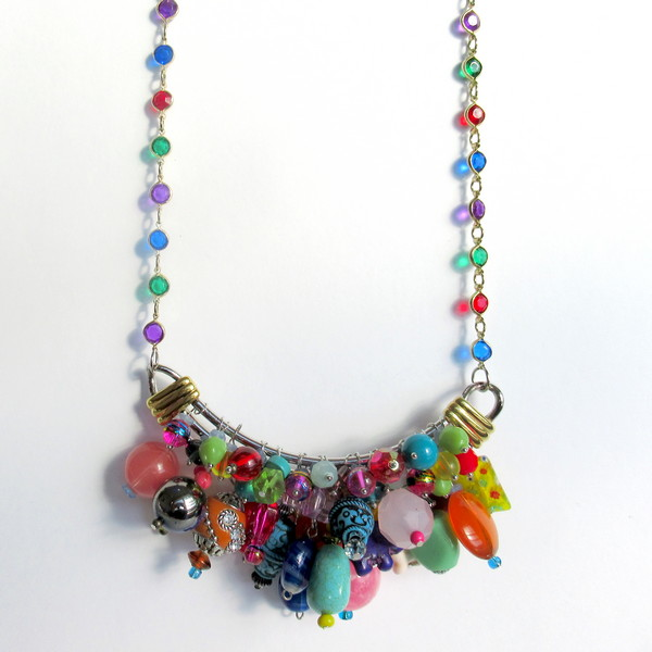 sassy necklace feature