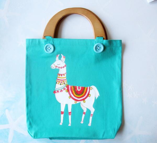 new sew llama bag