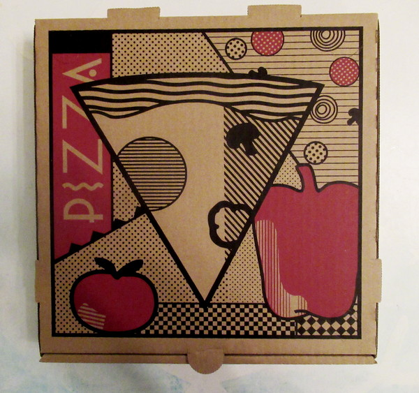 pizza box clock