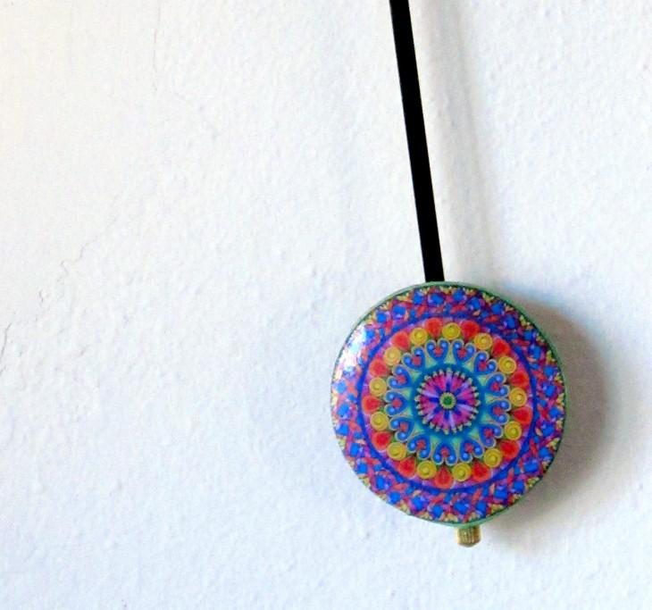 mandala clock bob