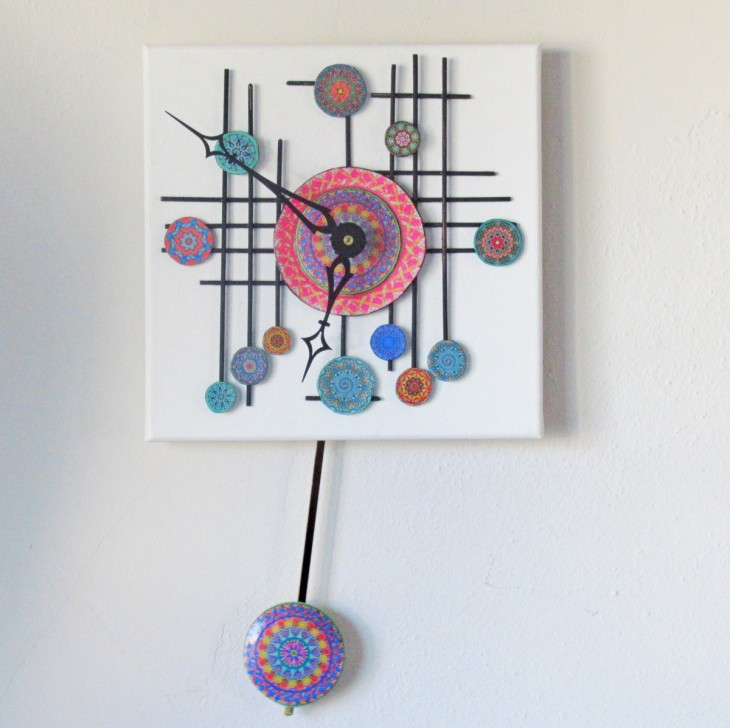 mandala clock feature