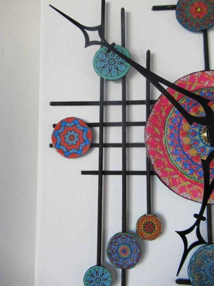 mandala clock side
