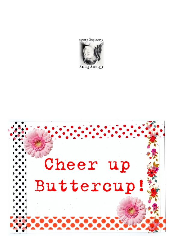 cheer up buttercup for pdf