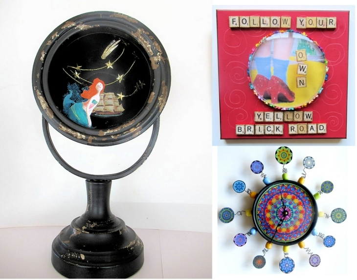 repurposed clock set