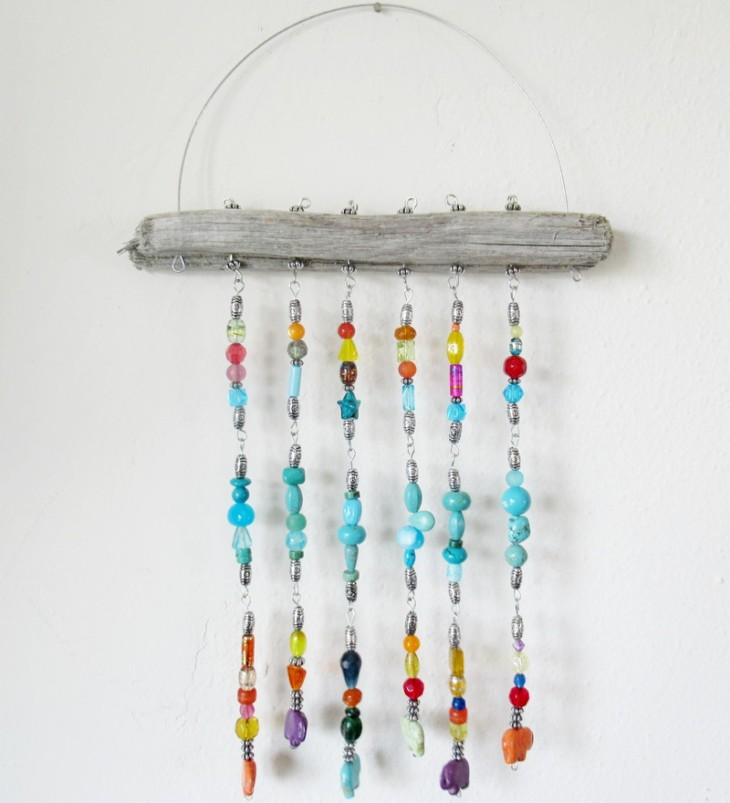 Driftwood wall hanging feature