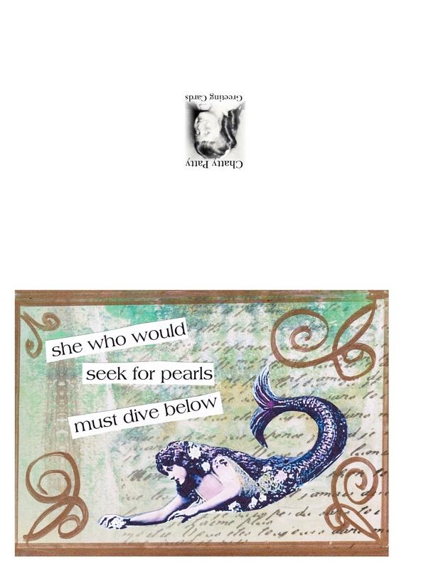 mermaid card photo for pdf