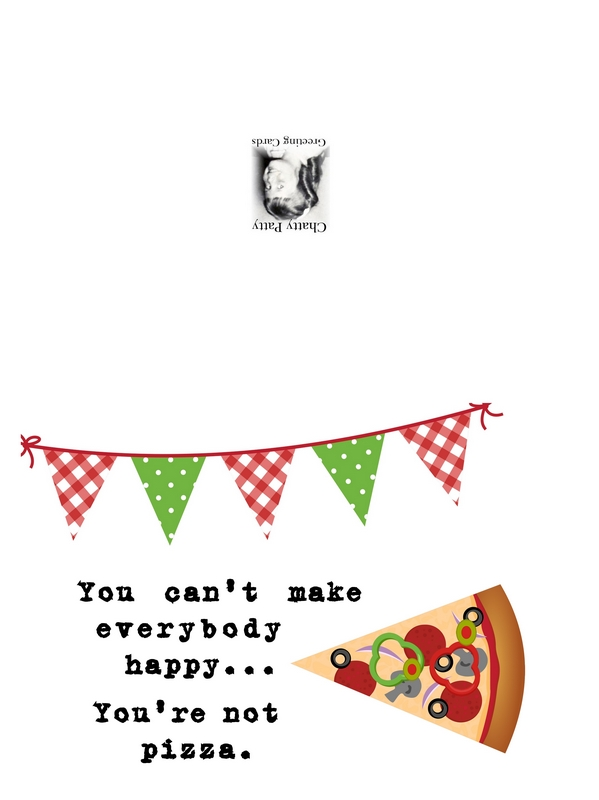 pizza greeting card photo for pdf