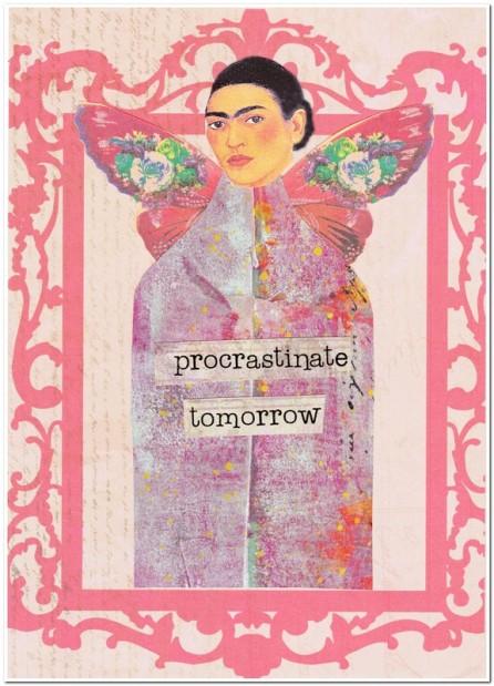 procrastinate tomorrow feature