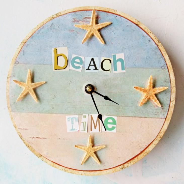 repurposed beach clock feature