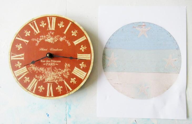 repurposed beachy clock start