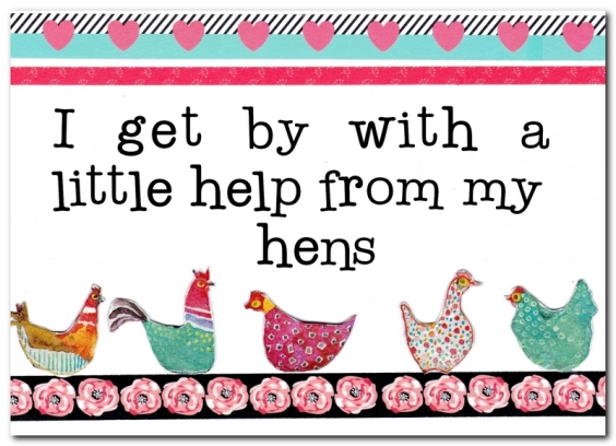 help from my hens feature