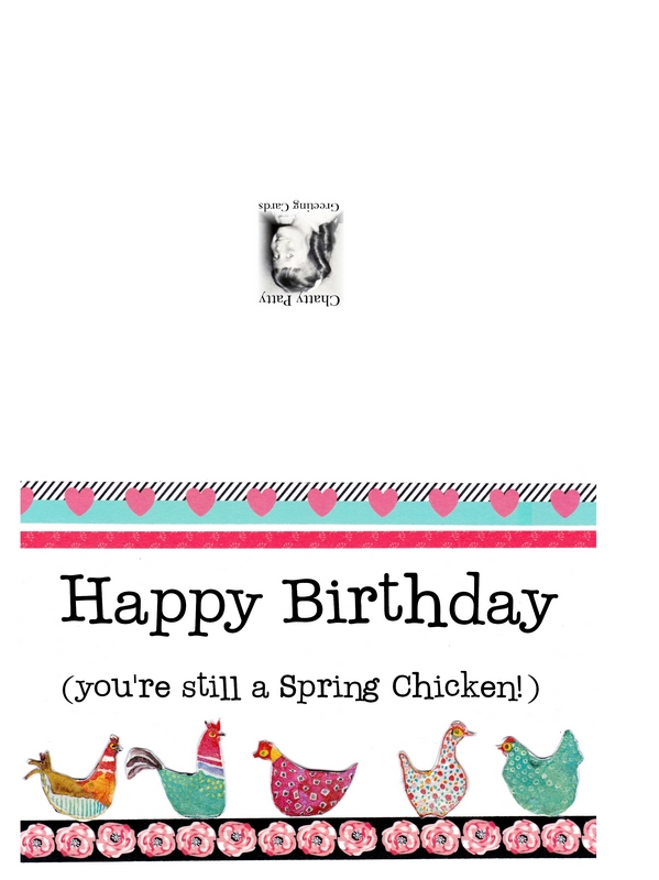 spring chicken photo for pdf