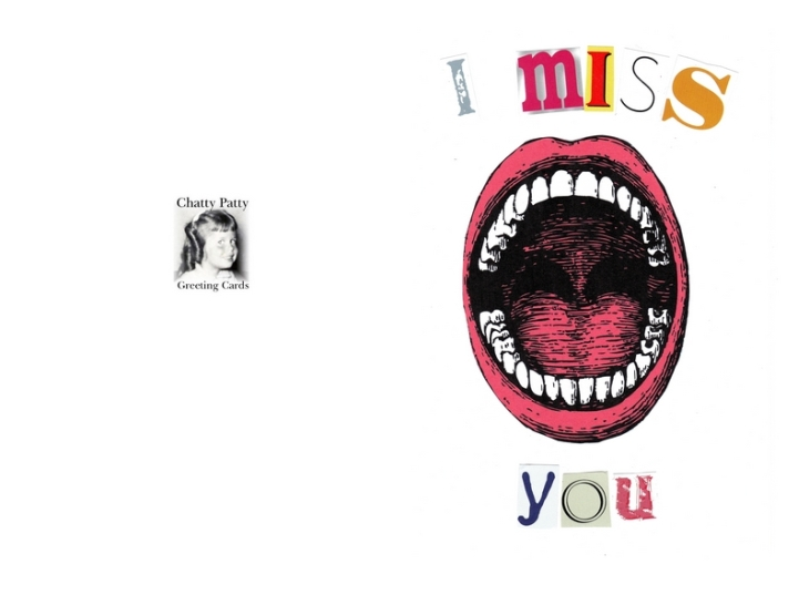 i miss you mouth photo for