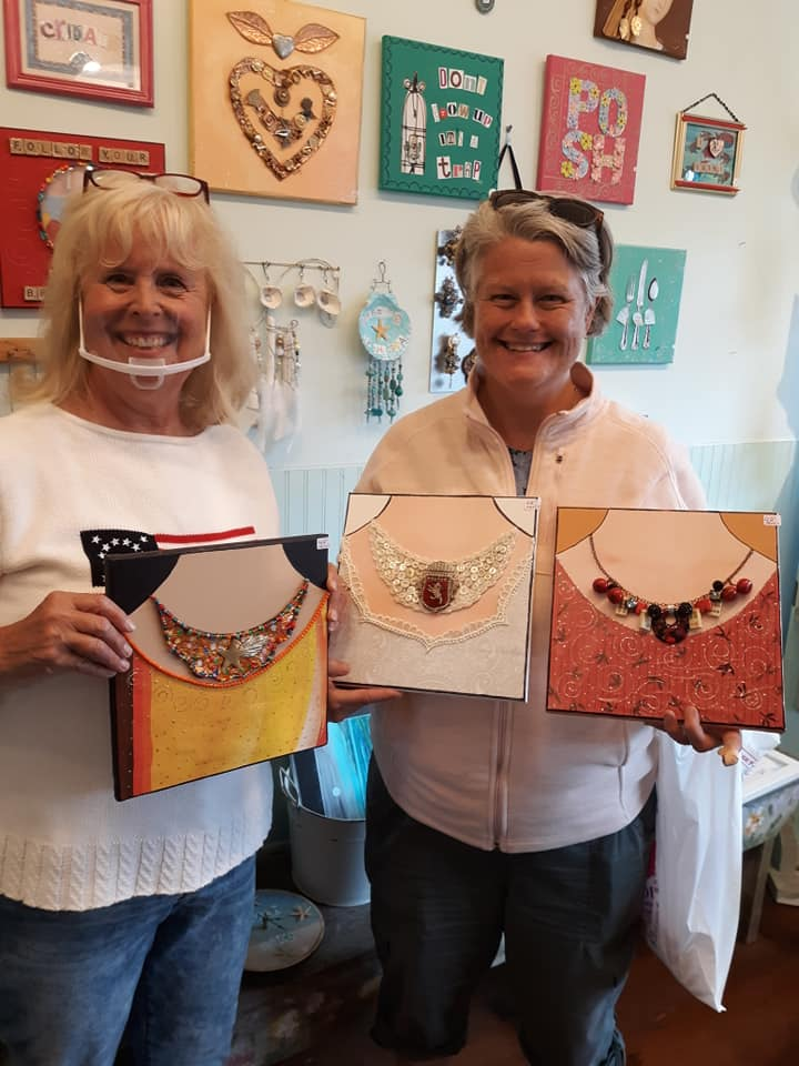 necklaces at Sunrose