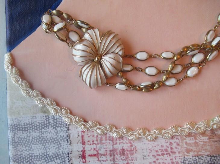 new necklace closeup