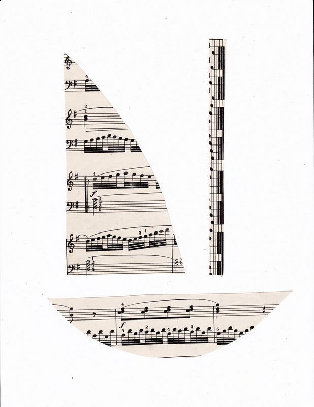 sheet music boat photo for pdf
