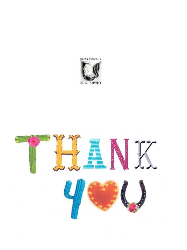 thank you artsy font photo pdf